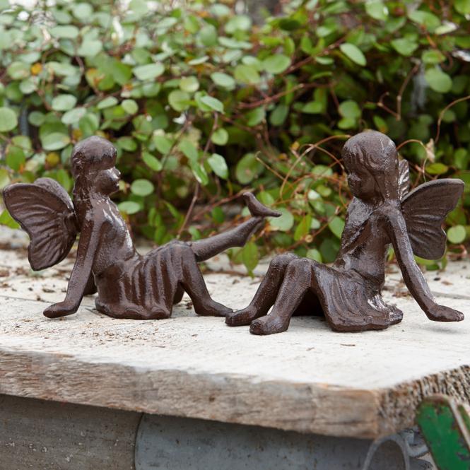 Deko-Figur 2er Set Papille | Dekoration > Figuren und Skulpturen > Figuren | LOBERON DE