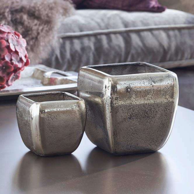 Vase 2er Set Kono | Dekoration > Vasen > Tischvasen | LOBERON DE