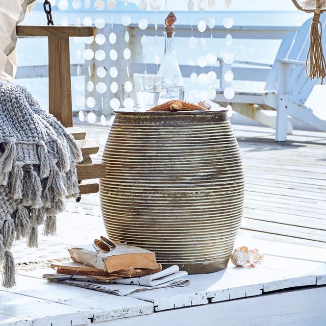 Beistelltisch Caqueret | Wohnzimmer > Tische | Antikkupfer | Aluminium | Möbel | Gartenmöbel | Tische & Beistelltische