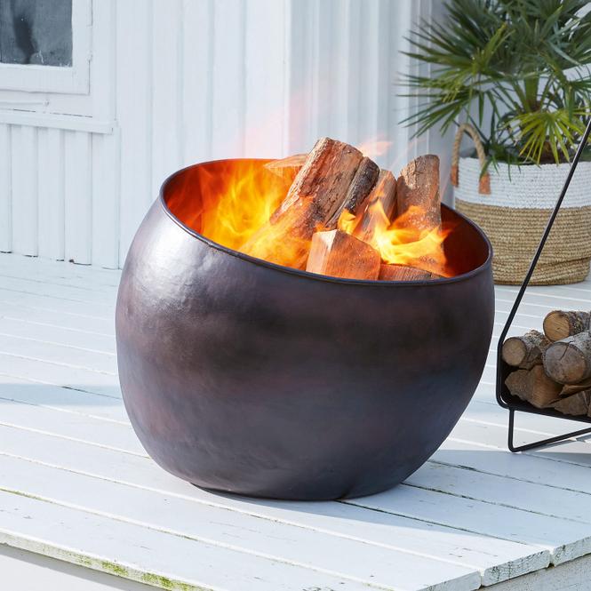 Feuerschale Marais | Garten > Grill und Zubehör | Antikbraun | Eisen | Accessoires | Feuer & Licht