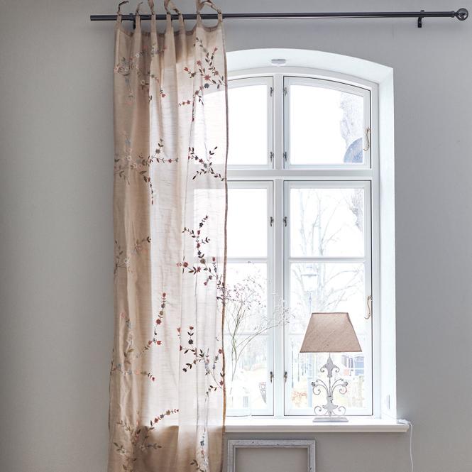 Gardine Trouy | Heimtextilien > Gardinen und Vorhänge | Champagner | 100% kunstseide | Accessoires | Textilien | Vorhänge & Gardinen