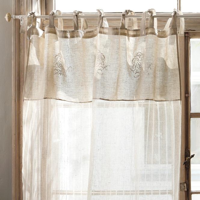 gardine calais loberon coming home. Black Bedroom Furniture Sets. Home Design Ideas