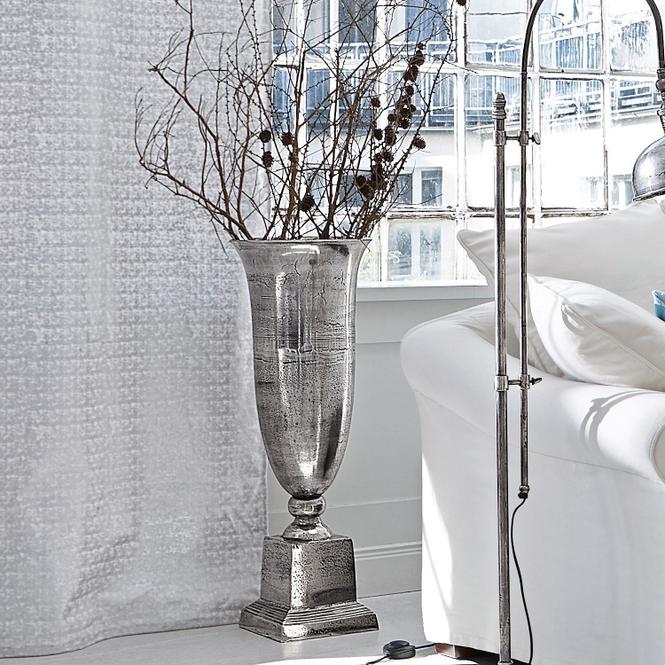 Bodenvase Belfort | Dekoration > Vasen > Bodenvasen | Antiksilber | Aluminiumguss | Accessoires | Vasen & Übertöpfe