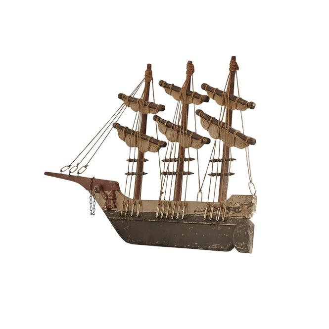 Deko Schiff Flying Ship Loberon Coming Home