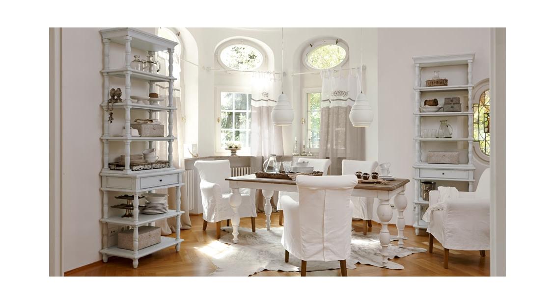 romantisches esszimmer im beliebten landhausstil - Esszimmer Landhaus