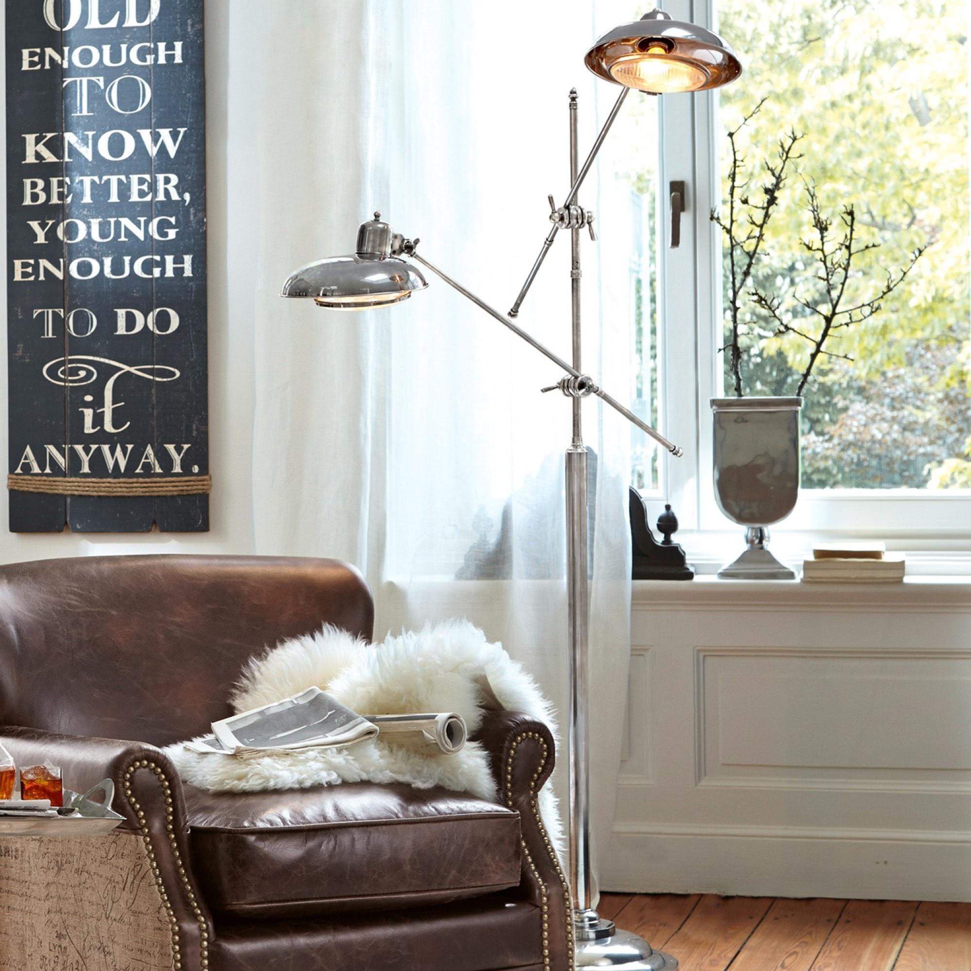 stehlampe kileen loberon coming home. Black Bedroom Furniture Sets. Home Design Ideas