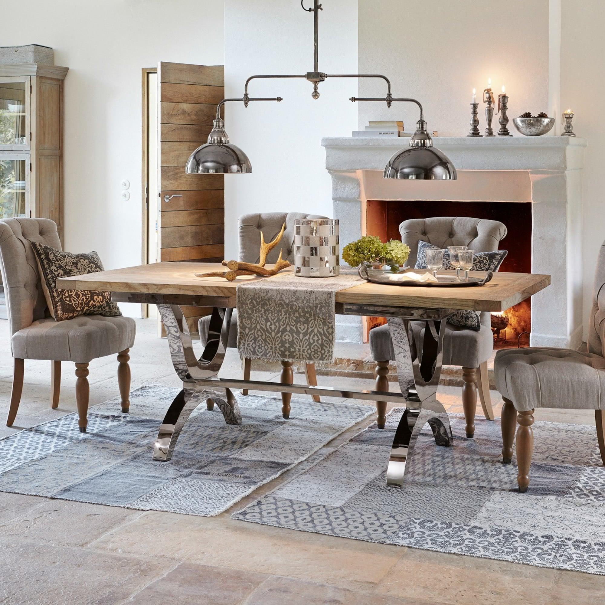 tisch grover loberon coming home. Black Bedroom Furniture Sets. Home Design Ideas
