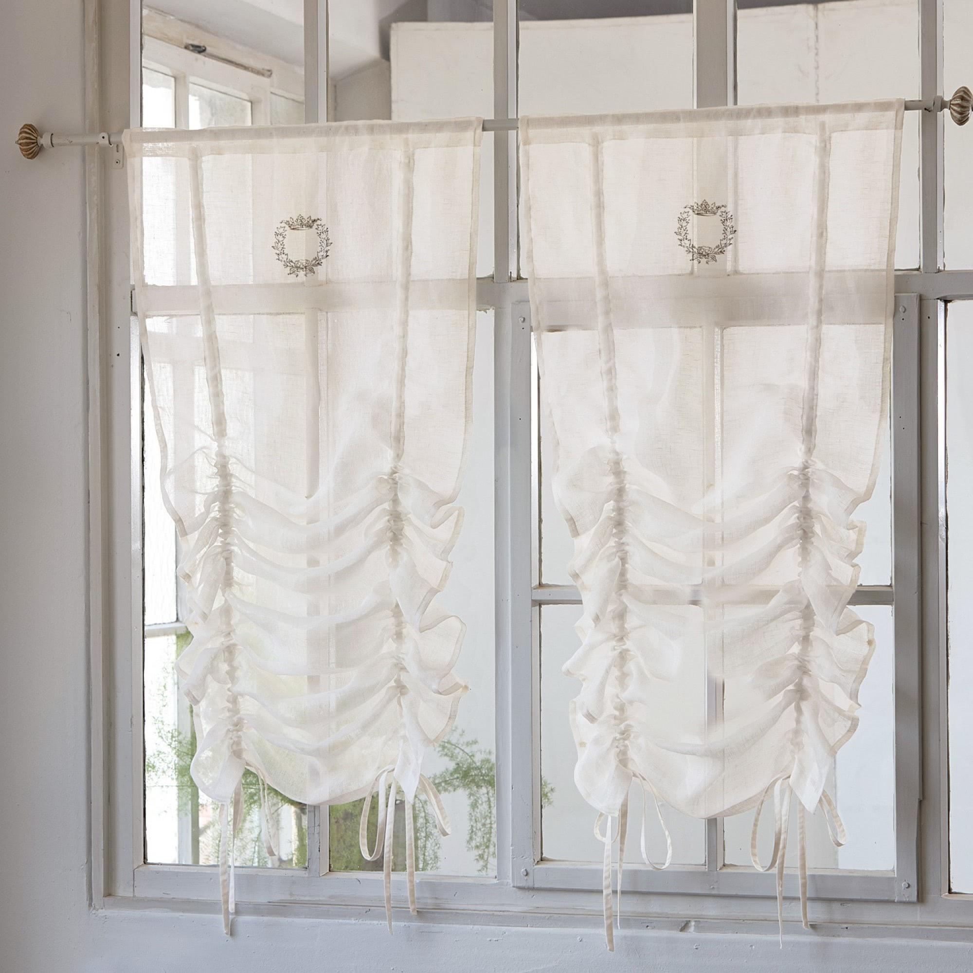 kuche gardinen vintage ~ sammlung der neuesten küchendesign - Wohnzimmer Gardinen Landhausstil