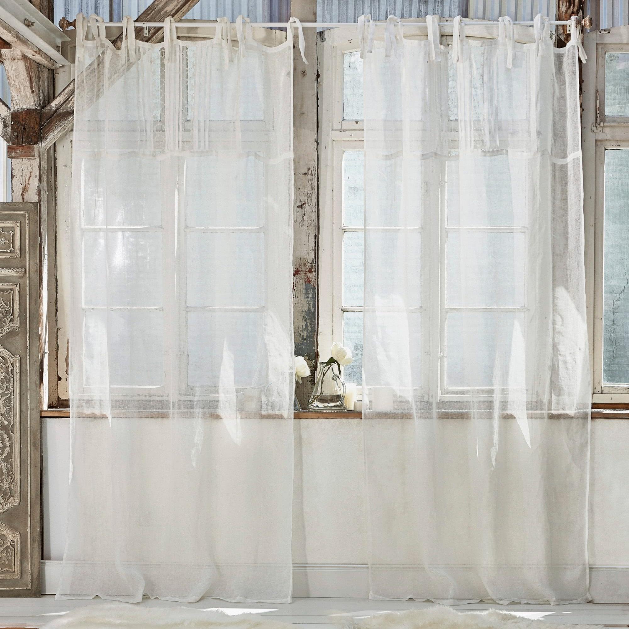 gardine lionelle loberon coming home. Black Bedroom Furniture Sets. Home Design Ideas