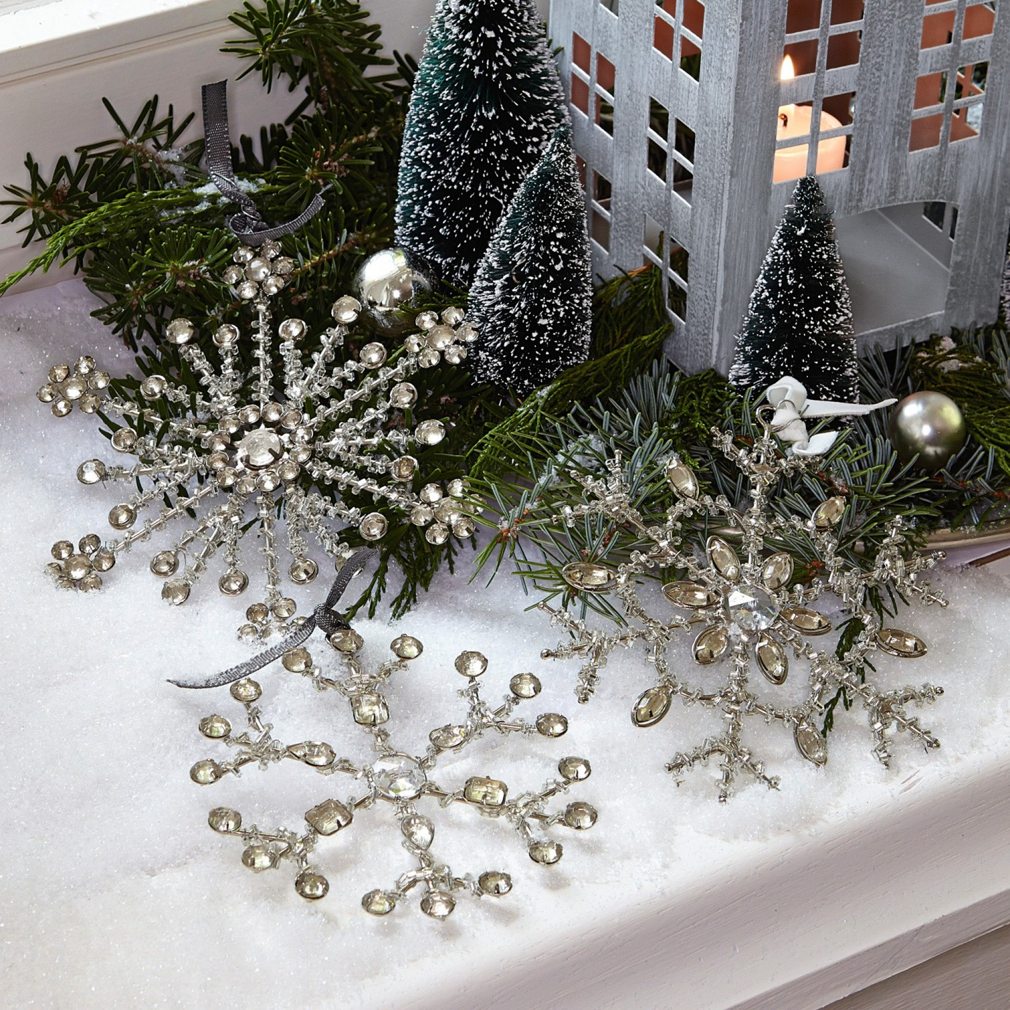 weihnachtsschmuck 3er set gabriac loberon coming home. Black Bedroom Furniture Sets. Home Design Ideas