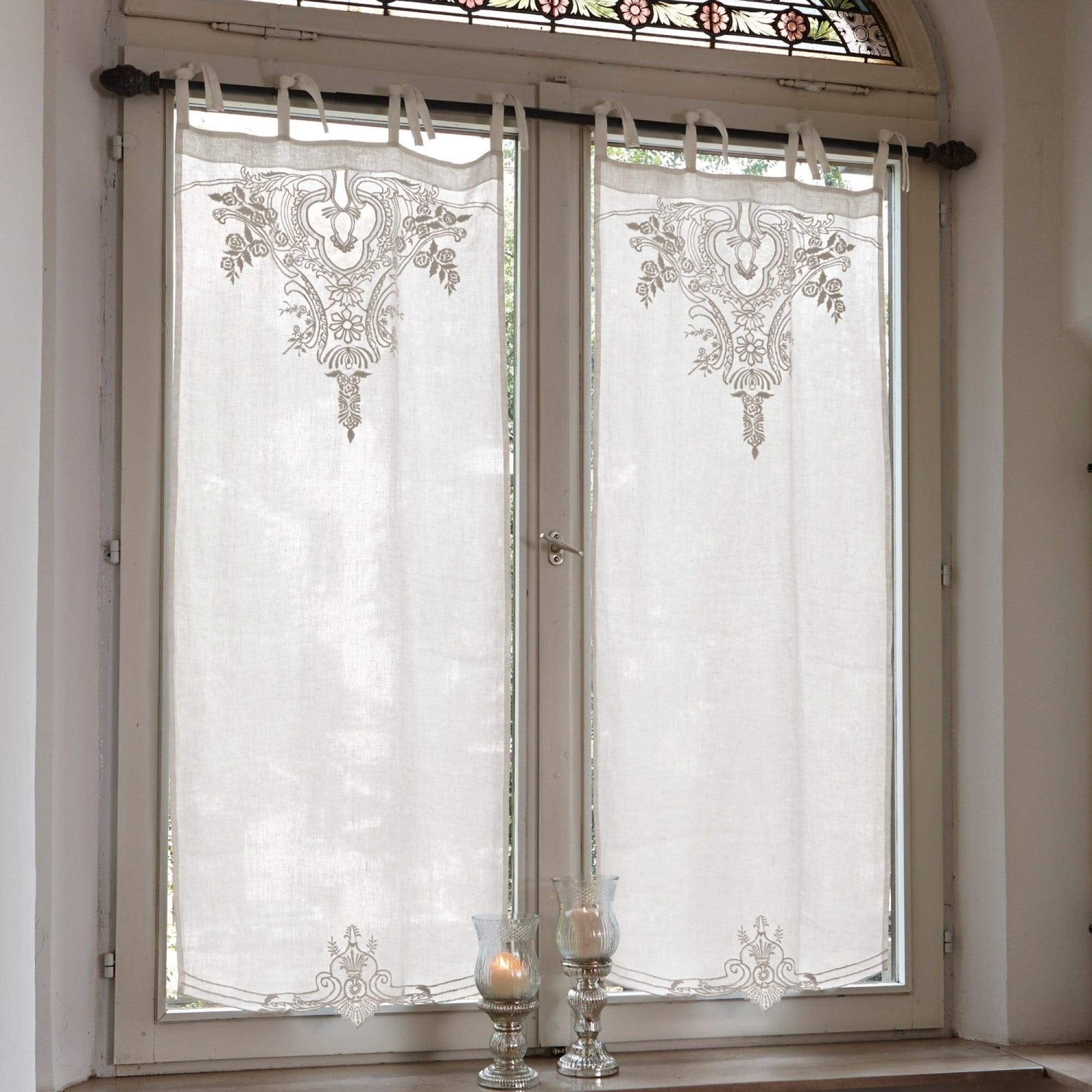 scheibengardine gardonne loberon coming home. Black Bedroom Furniture Sets. Home Design Ideas