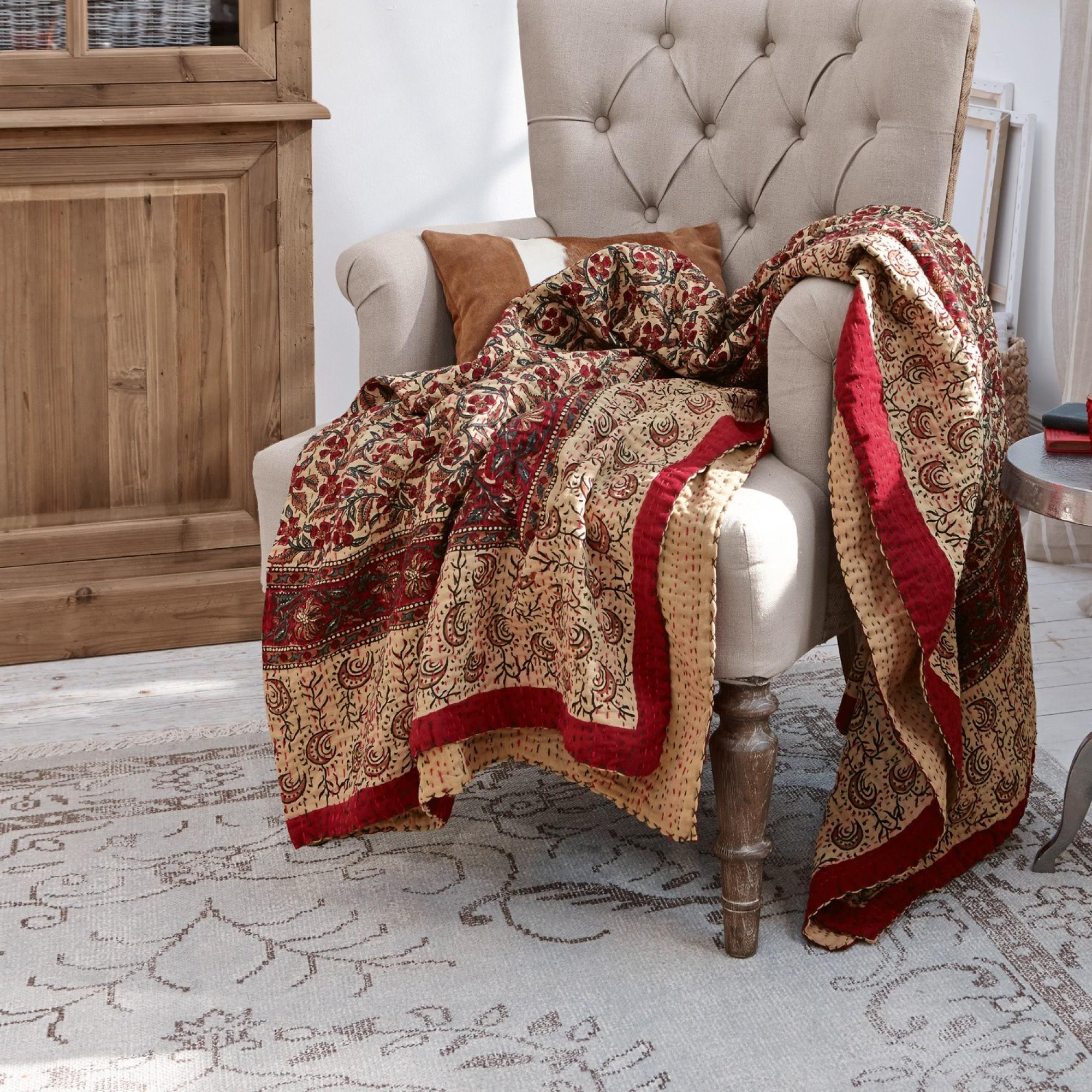 plaid jaffrey loberon coming home. Black Bedroom Furniture Sets. Home Design Ideas