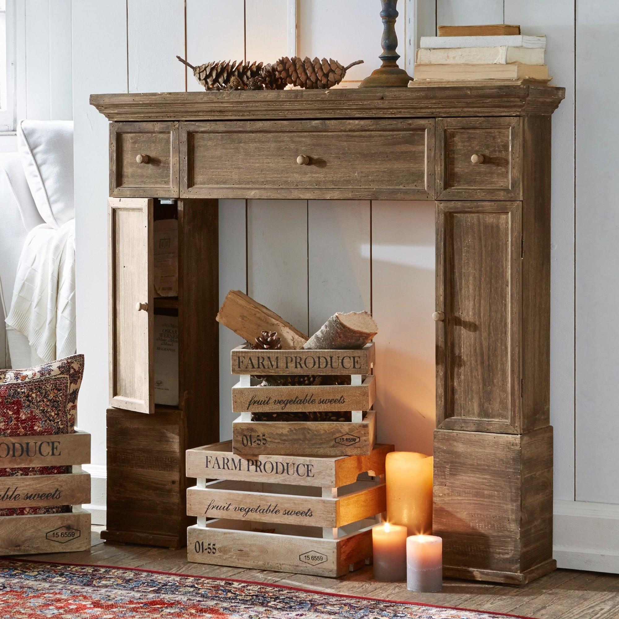 kaminkonsole konterra loberon coming home. Black Bedroom Furniture Sets. Home Design Ideas