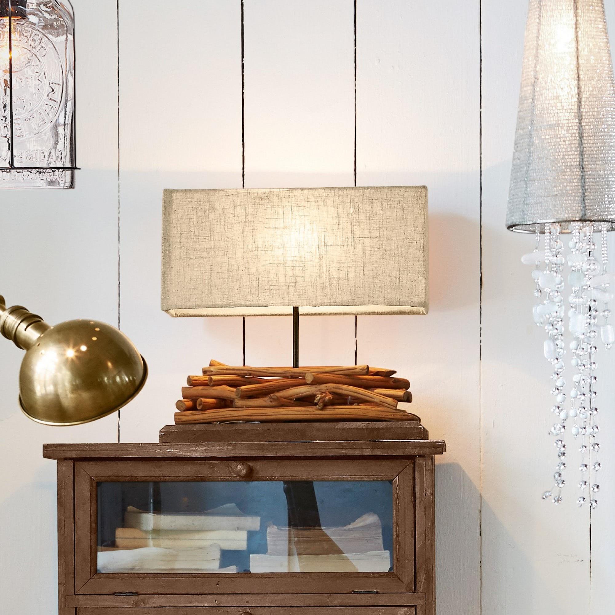 tischlampe caribou loberon coming home. Black Bedroom Furniture Sets. Home Design Ideas