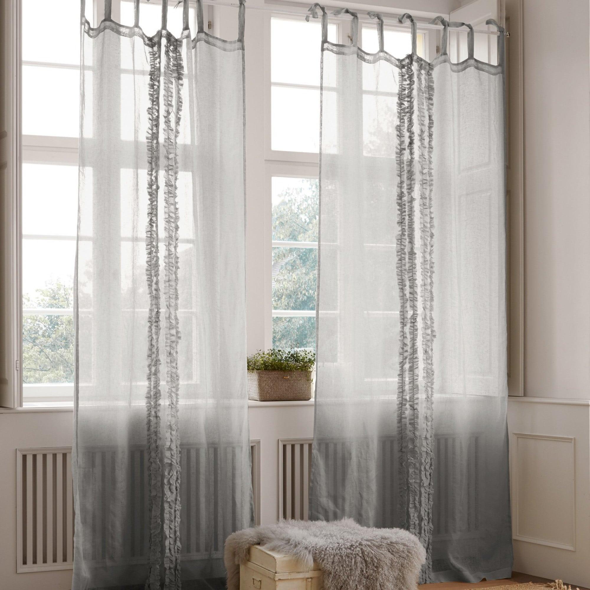 gardine scylla loberon coming home. Black Bedroom Furniture Sets. Home Design Ideas