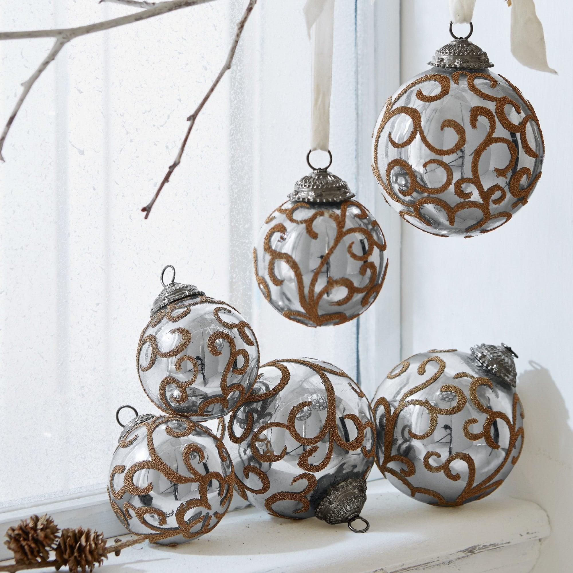 weihnachtsschmuck 6er set servane loberon coming home. Black Bedroom Furniture Sets. Home Design Ideas