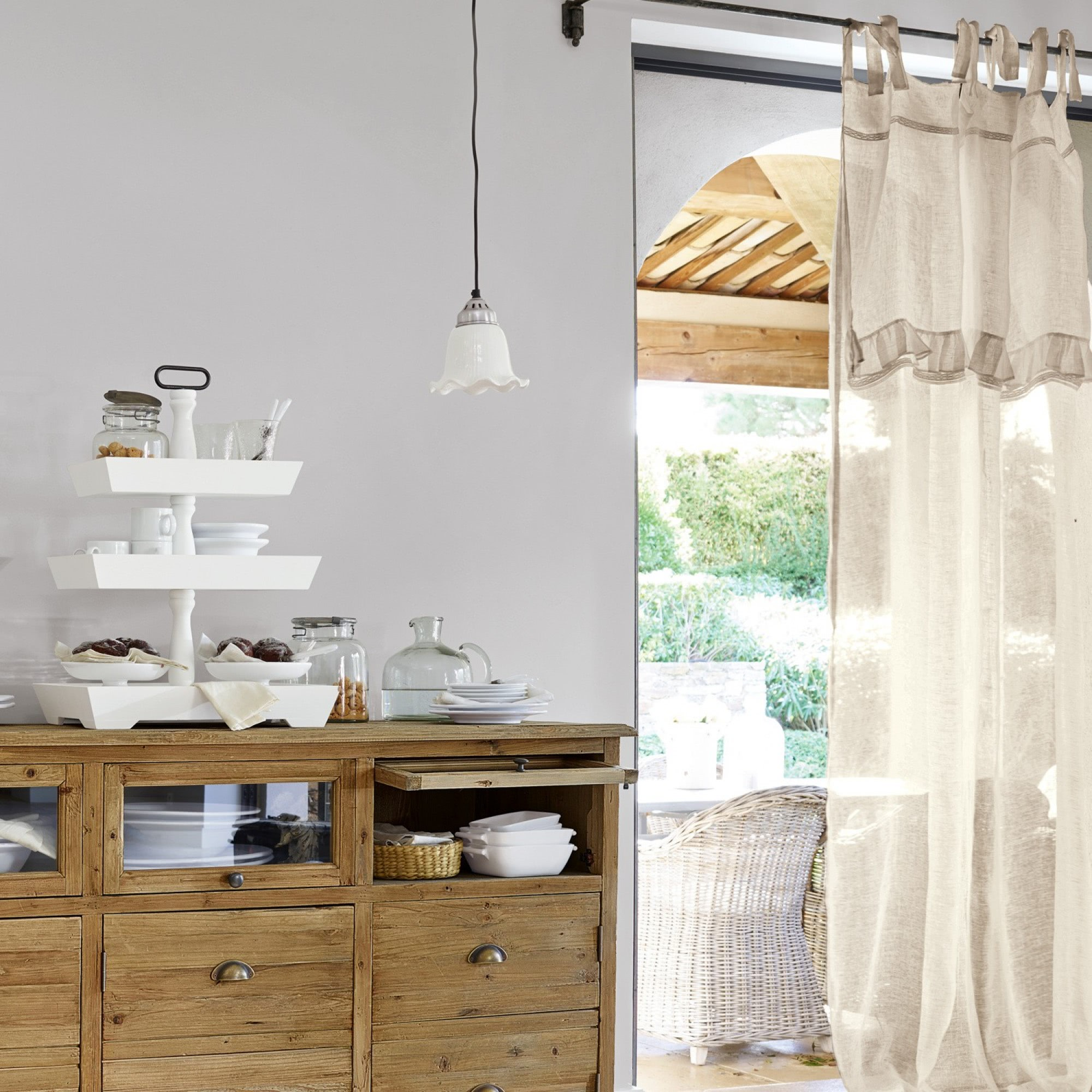 gardine juella loberon coming home. Black Bedroom Furniture Sets. Home Design Ideas
