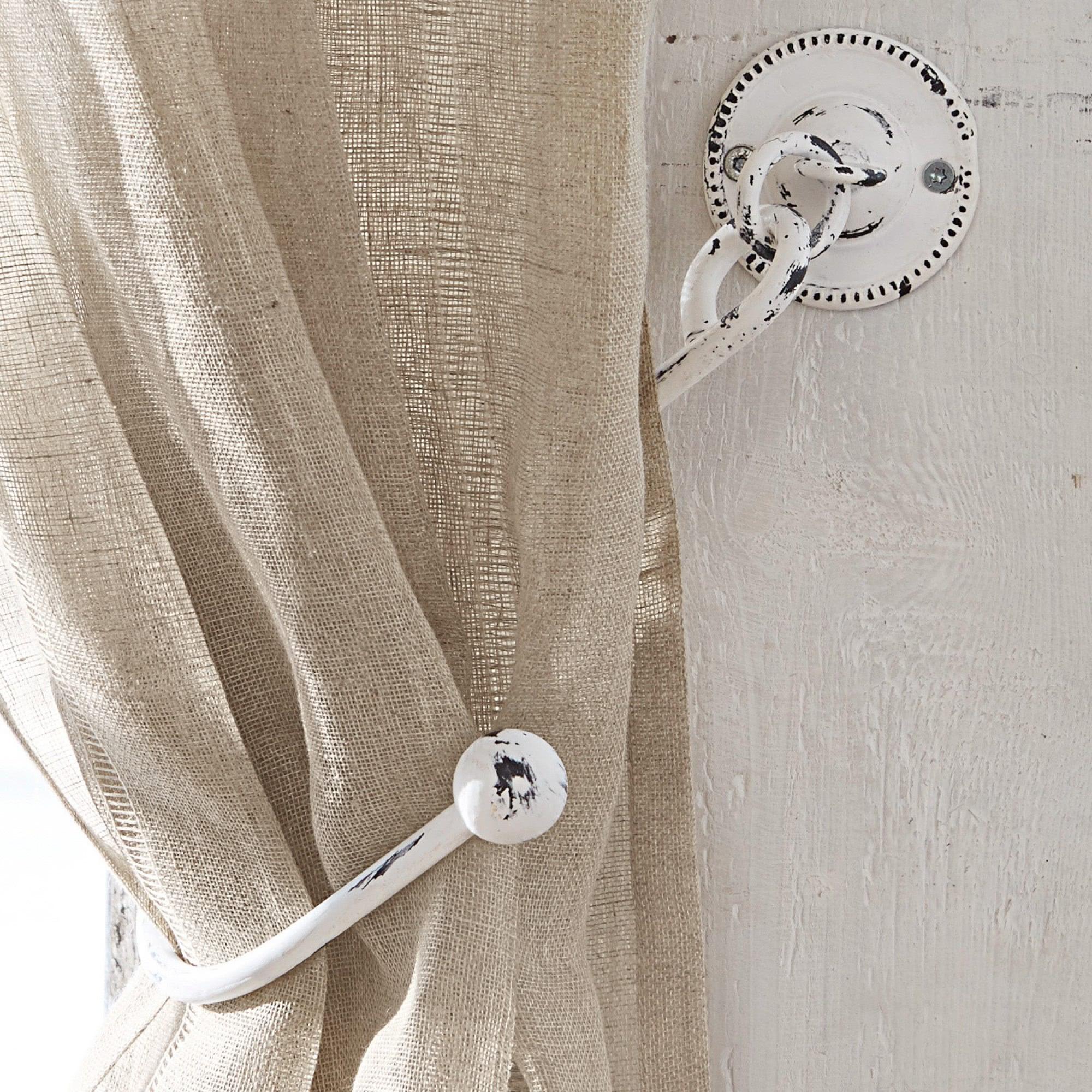 gardinenhalter 2er set lille loberon coming home. Black Bedroom Furniture Sets. Home Design Ideas