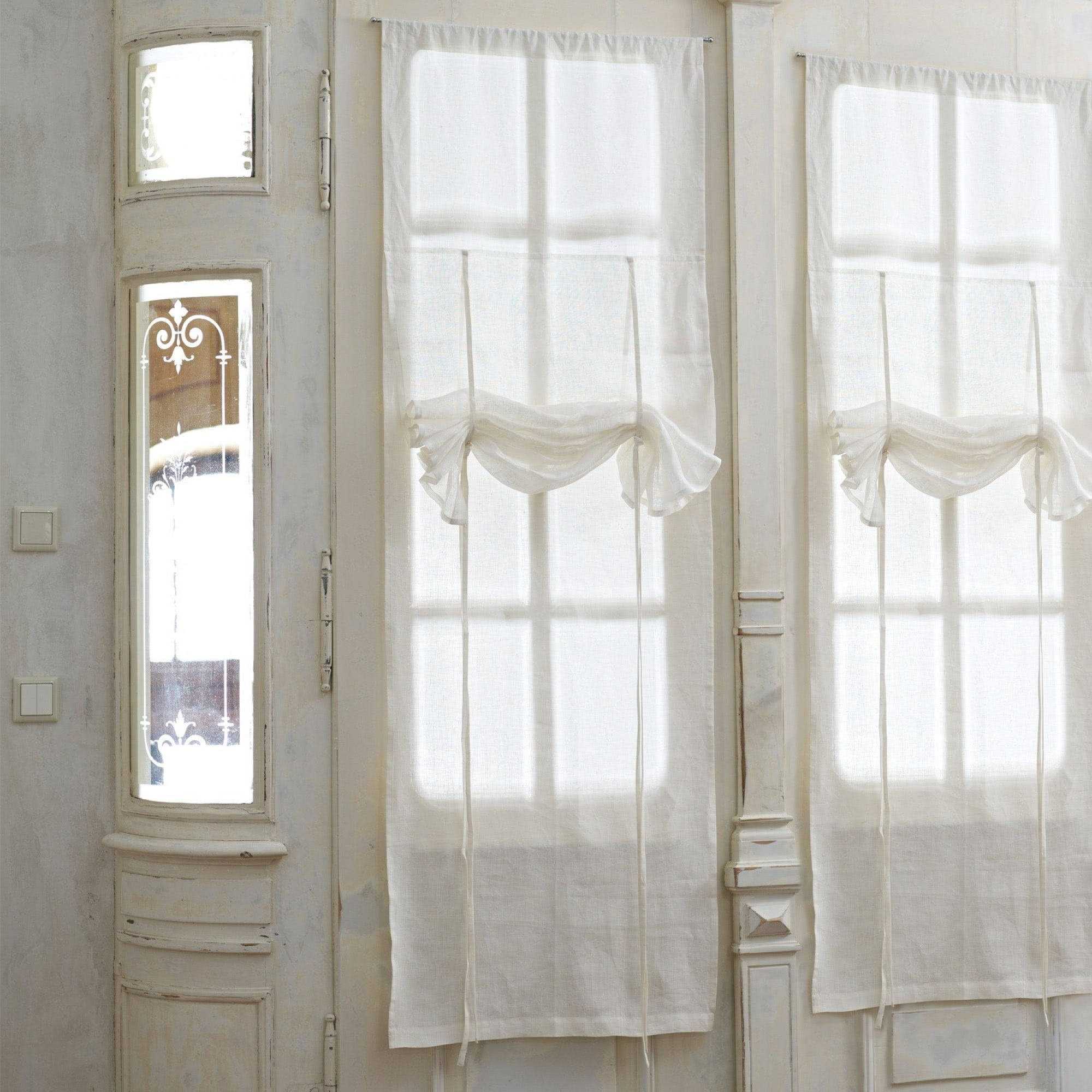 gardine rosalie loberon coming home. Black Bedroom Furniture Sets. Home Design Ideas