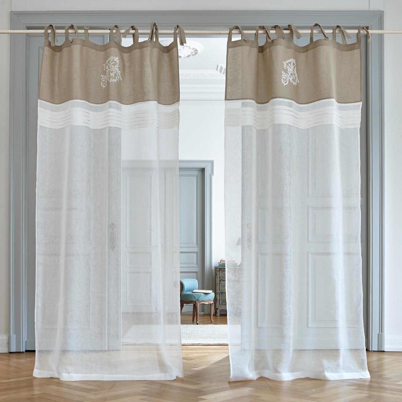 gardine gratot loberon. Black Bedroom Furniture Sets. Home Design Ideas