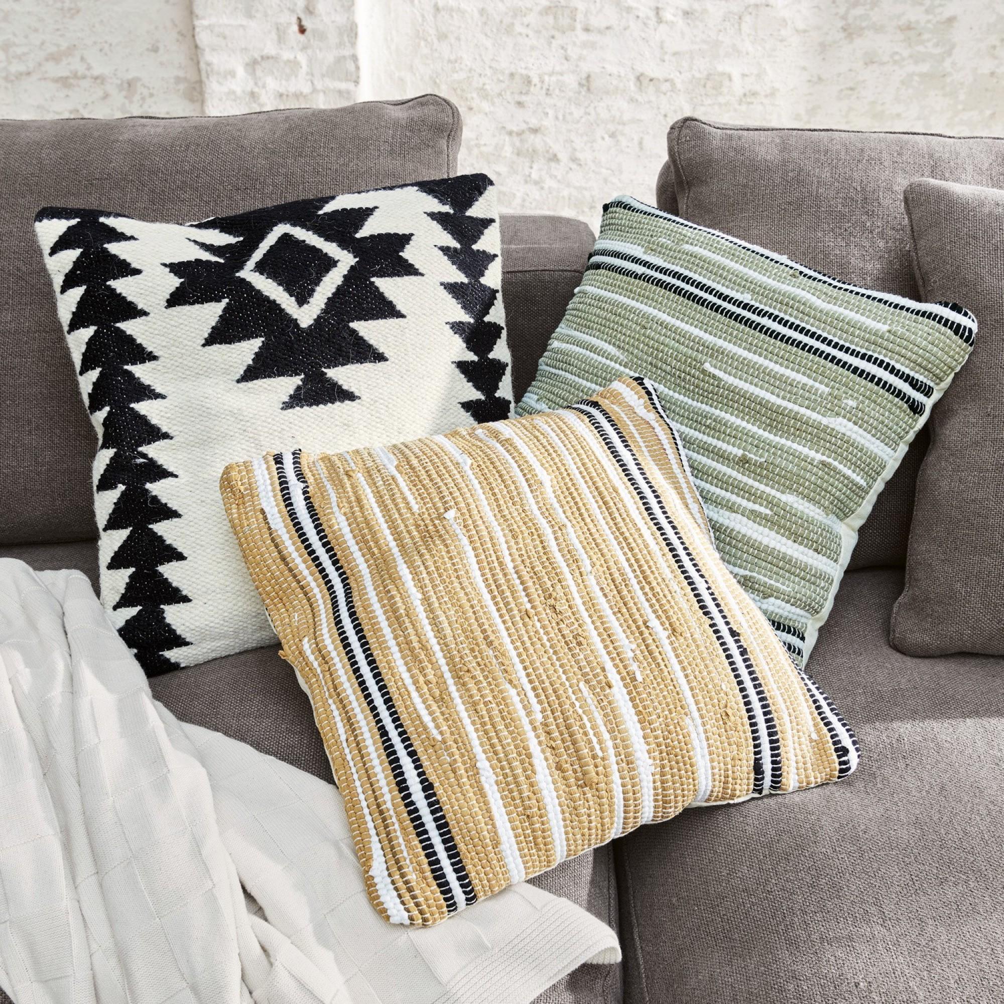 kissen 3er set ethno loberon. Black Bedroom Furniture Sets. Home Design Ideas
