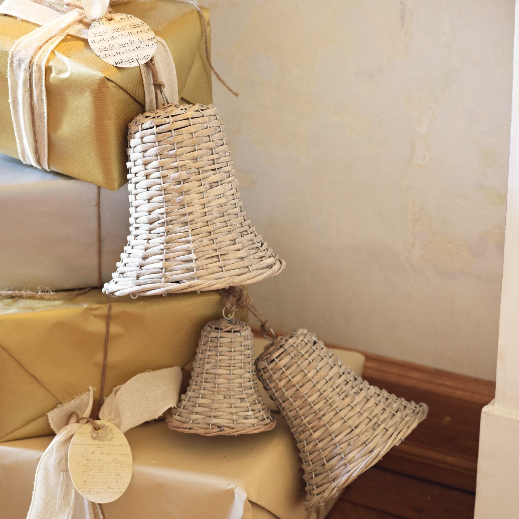 weihnachtsschmuck 3er set bells loberon coming home. Black Bedroom Furniture Sets. Home Design Ideas