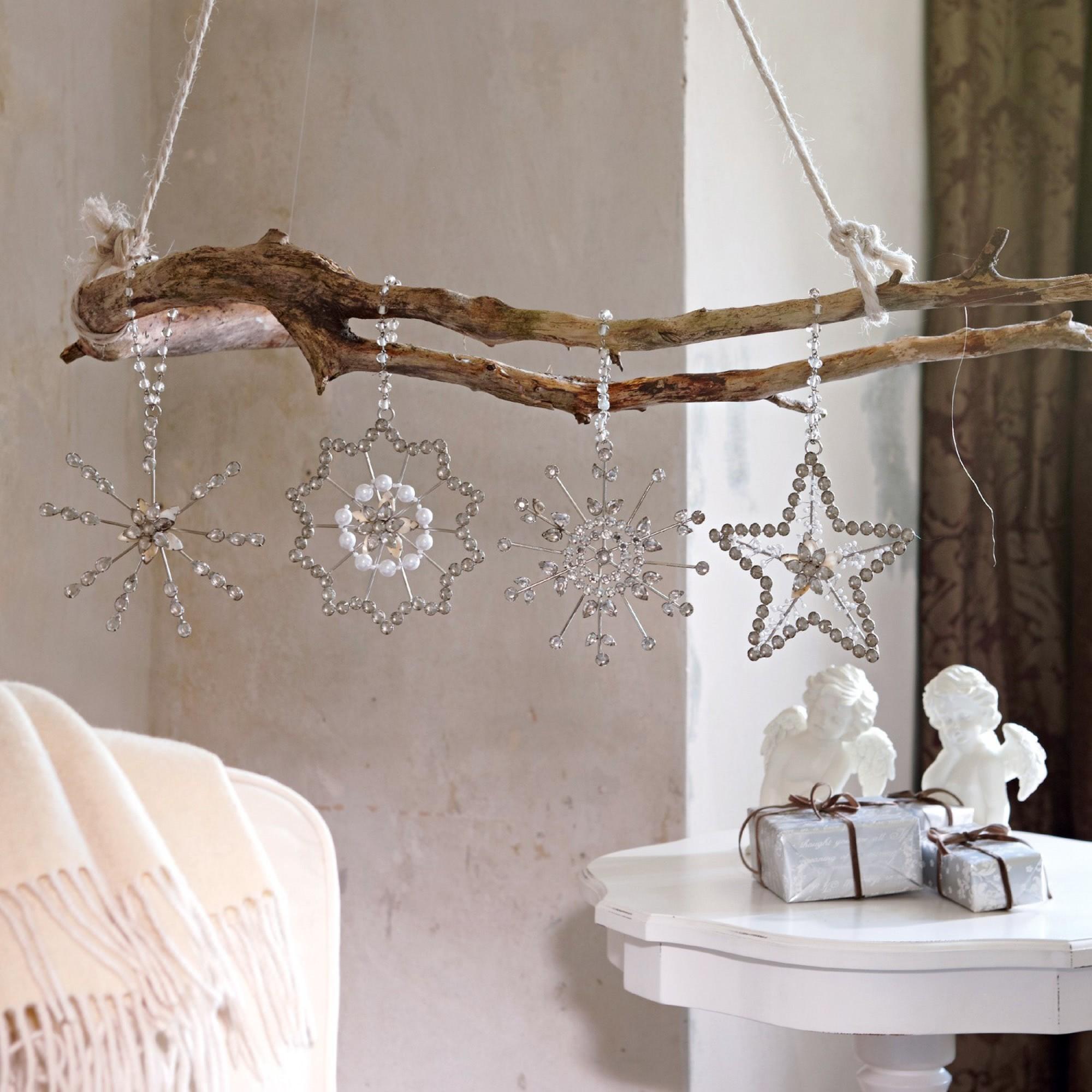 weihnachtsschmuck 4er set pierette loberon coming home. Black Bedroom Furniture Sets. Home Design Ideas