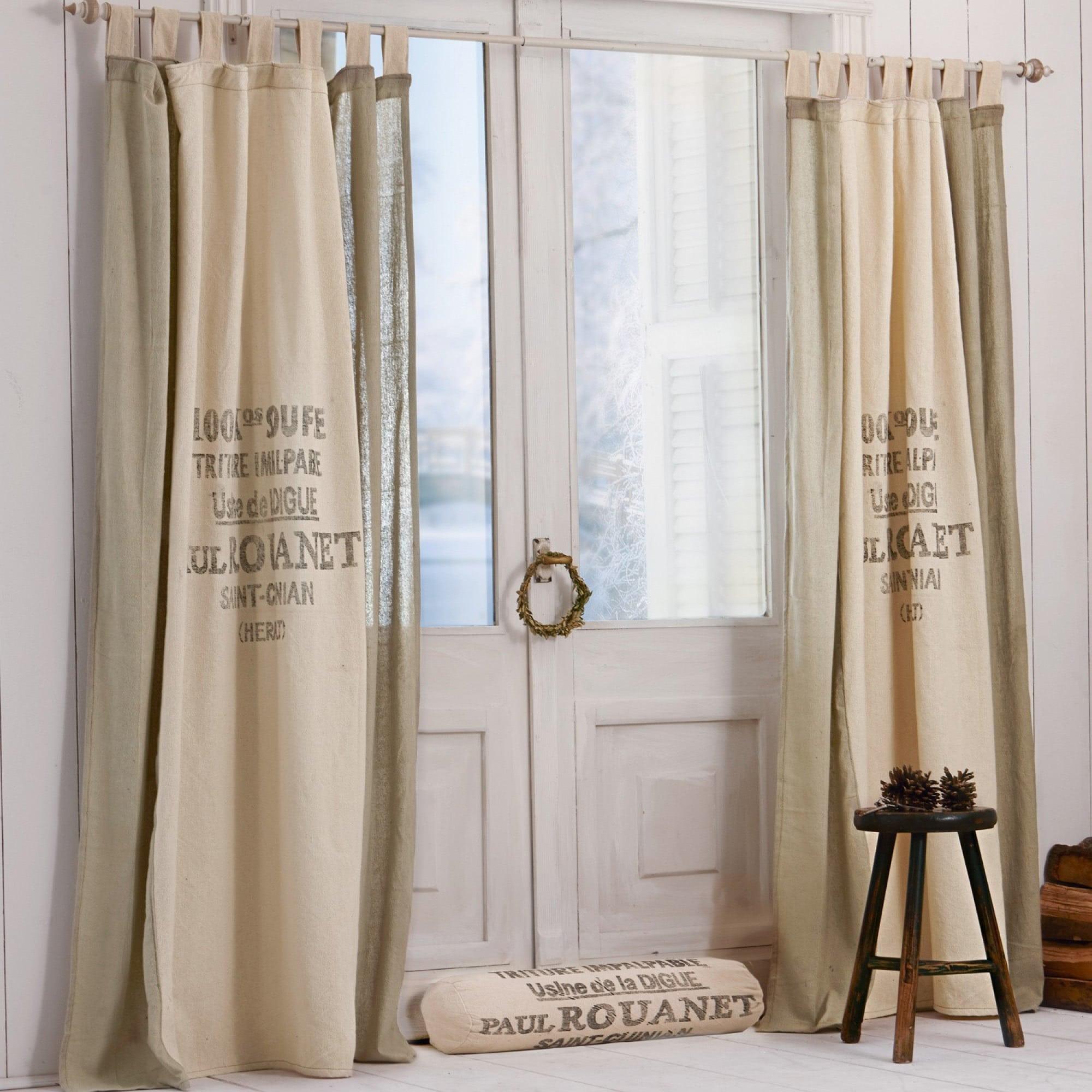 gardine rouanet loberon coming home. Black Bedroom Furniture Sets. Home Design Ideas
