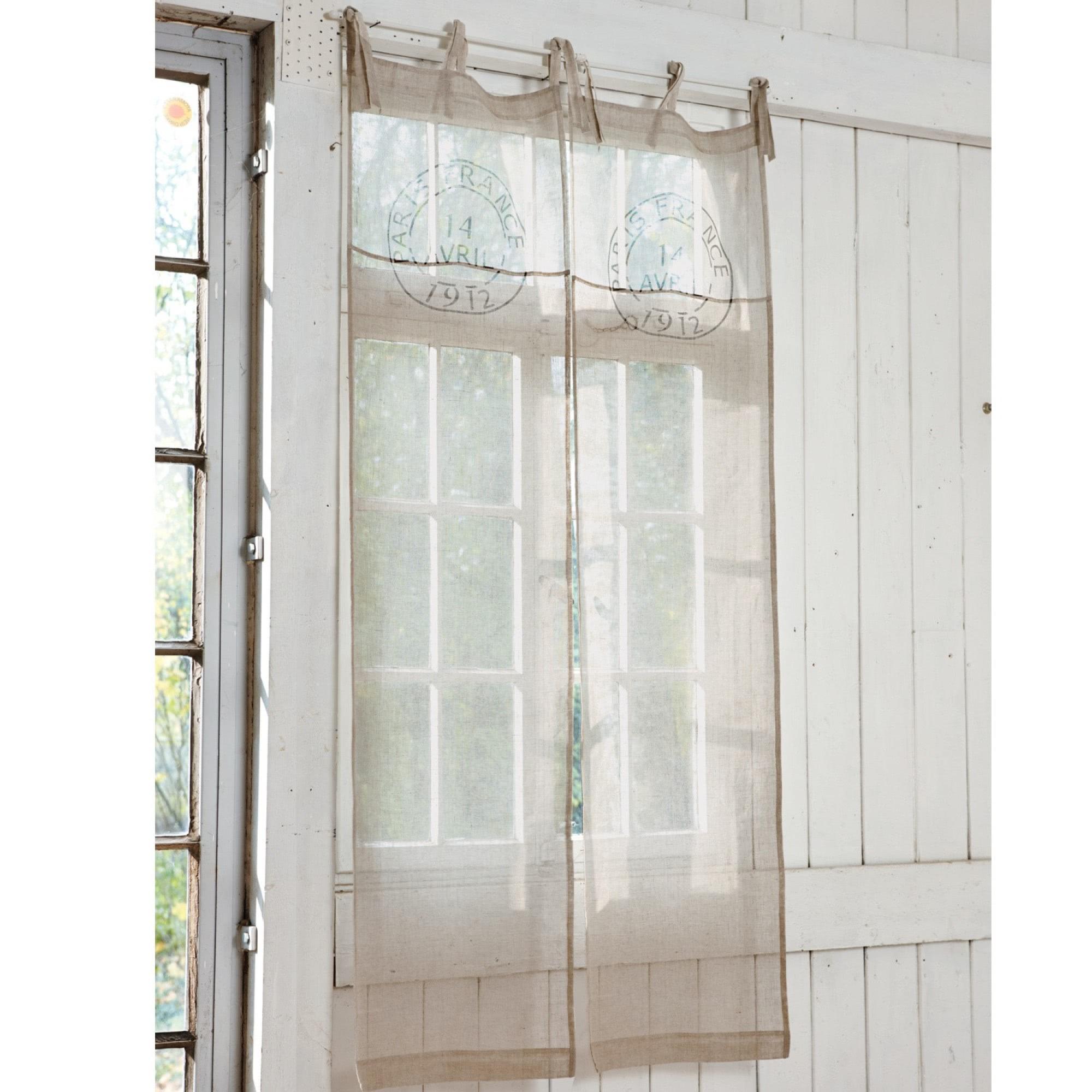 gardine levent loberon coming home. Black Bedroom Furniture Sets. Home Design Ideas