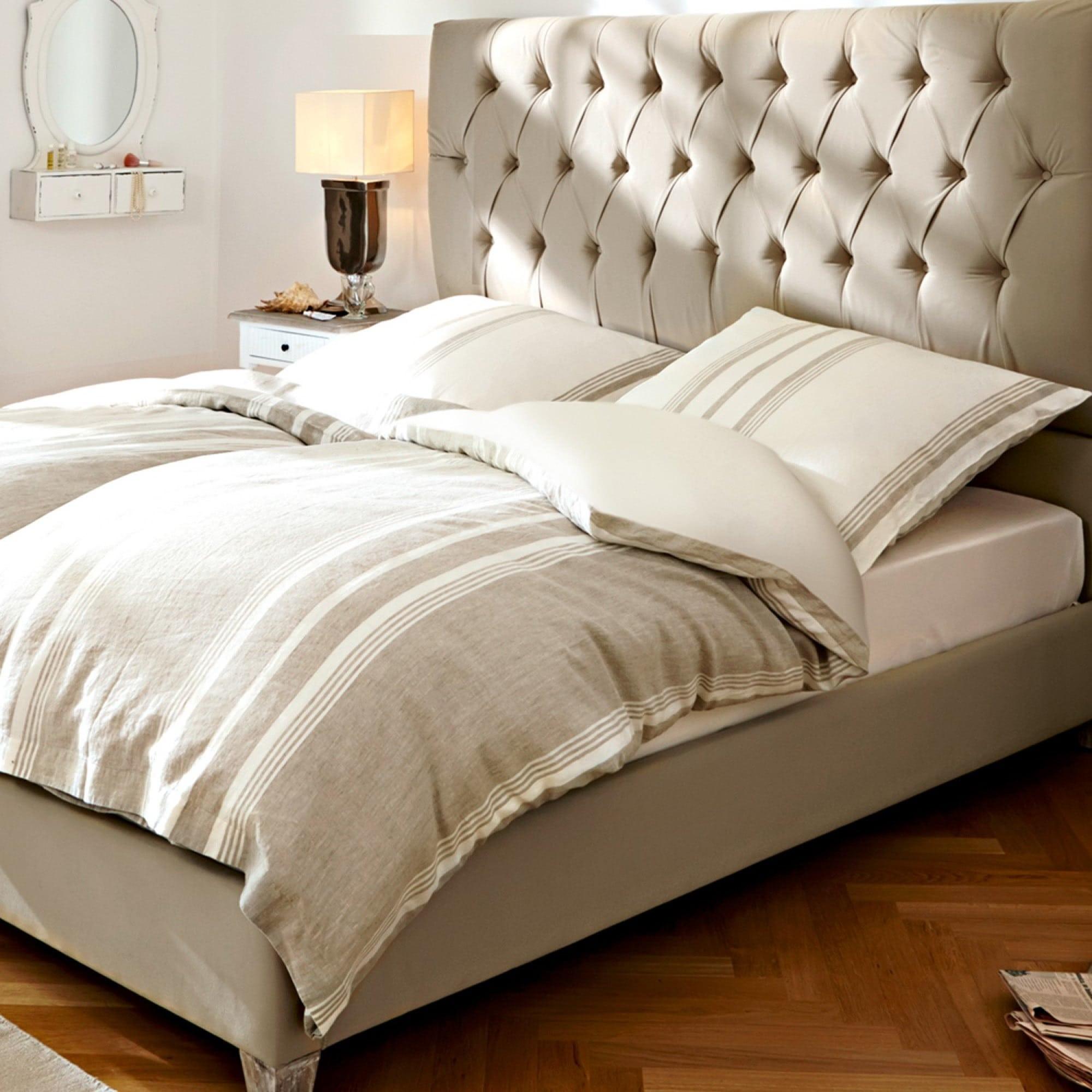 bettw sche stripe loberon coming home. Black Bedroom Furniture Sets. Home Design Ideas
