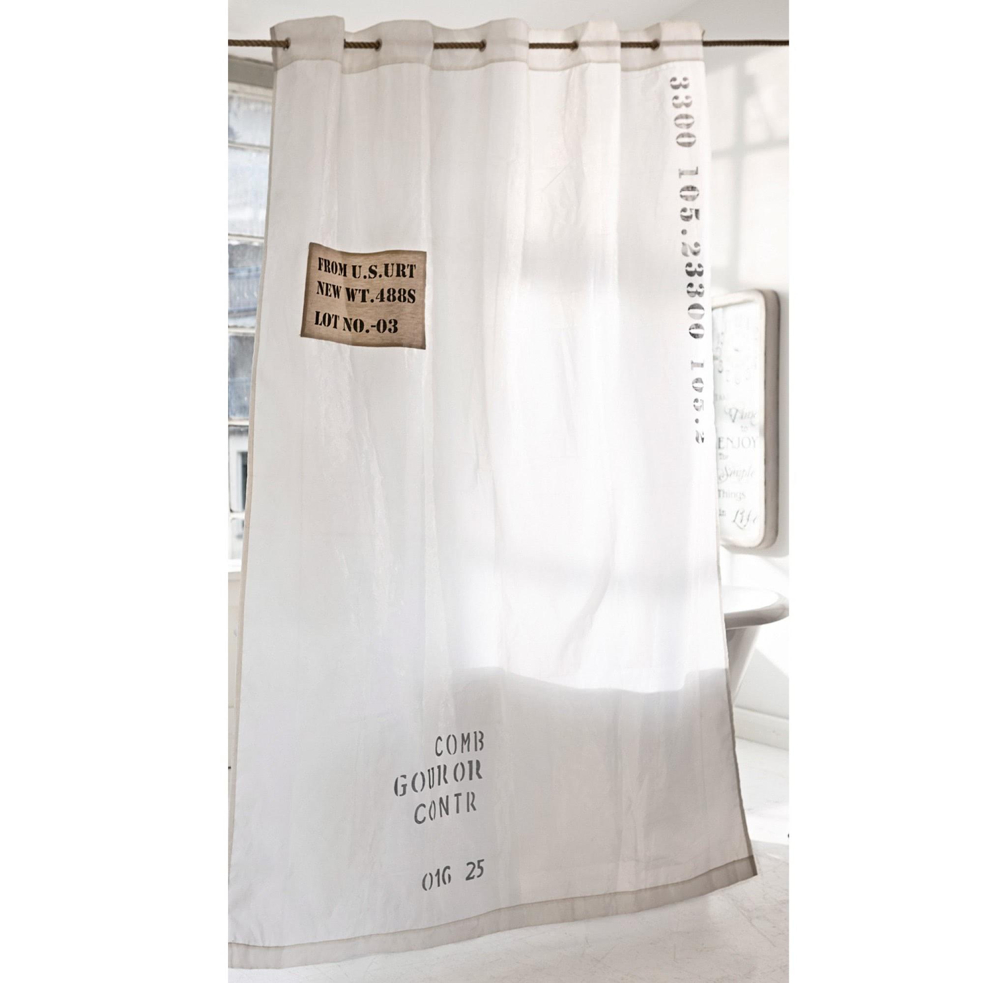 duschvorhang balte loberon coming home. Black Bedroom Furniture Sets. Home Design Ideas