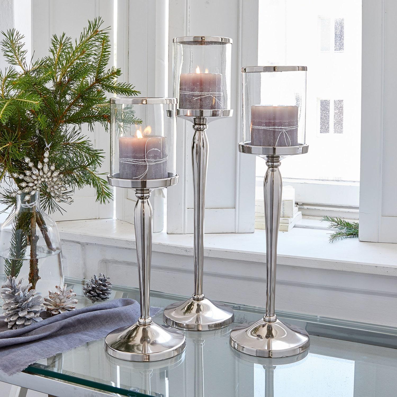 Kerzenständer 3er Set Serres
