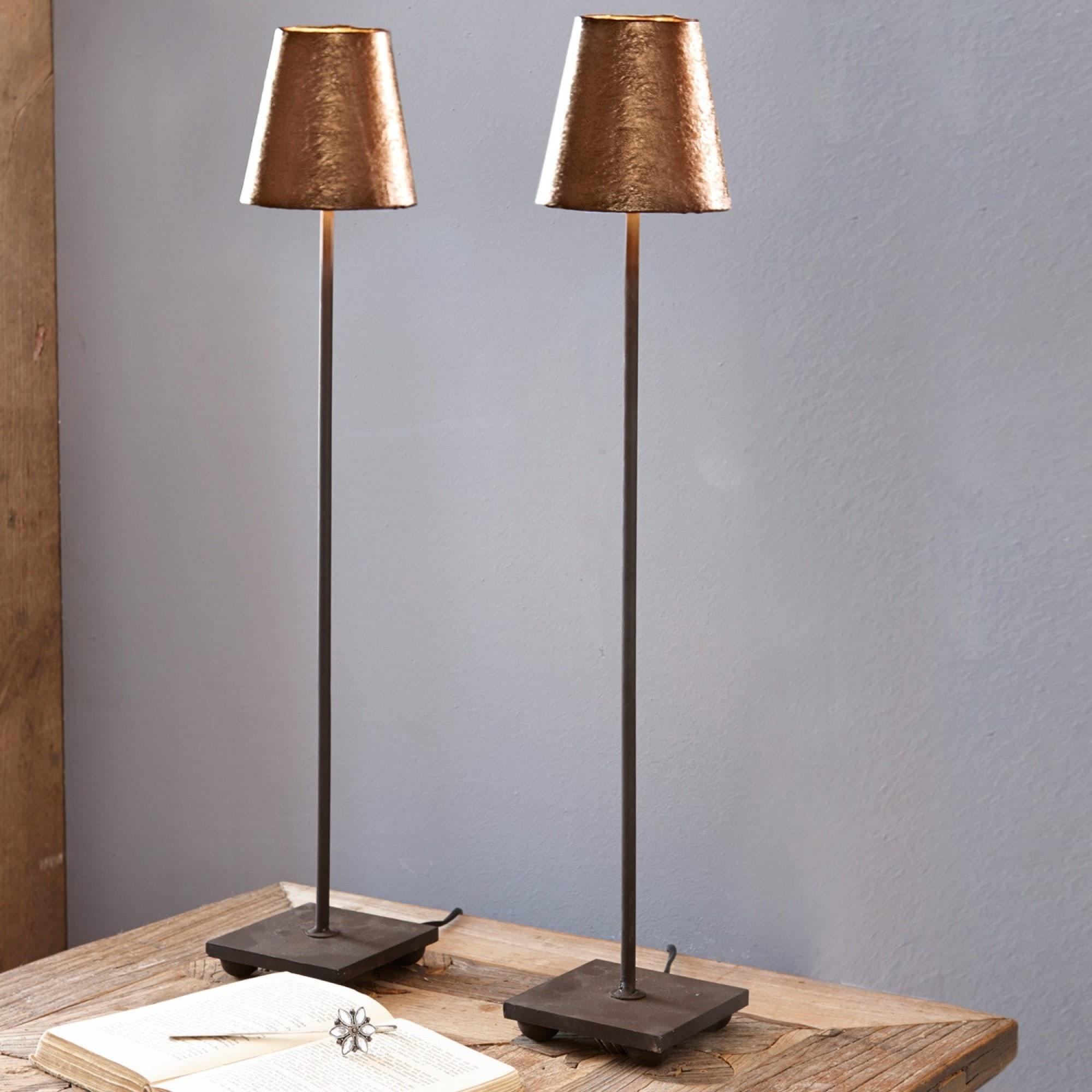 Tischlampe 2er set filia loberon coming home for Tischlampen vintage