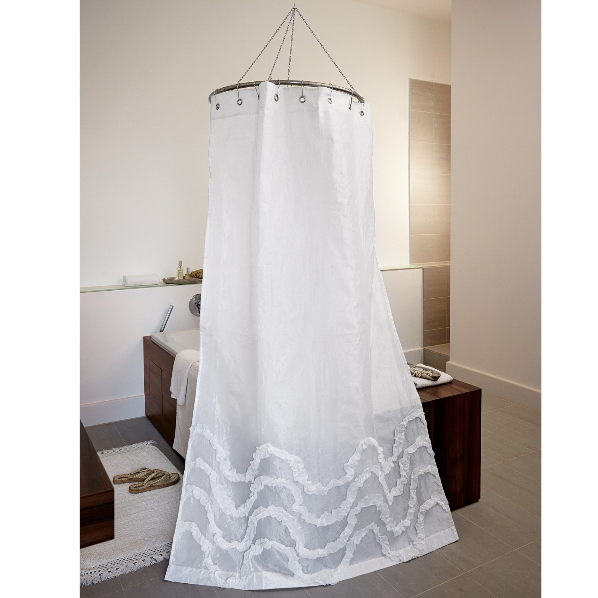 duschvorhang plumont loberon coming home. Black Bedroom Furniture Sets. Home Design Ideas