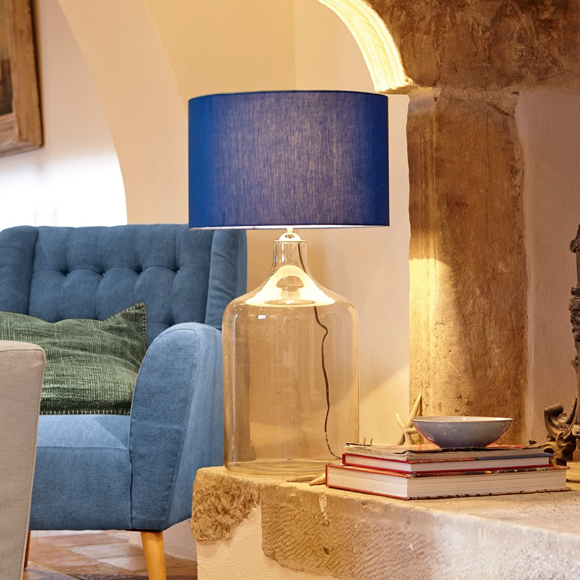tischlampe clemence loberon coming home. Black Bedroom Furniture Sets. Home Design Ideas