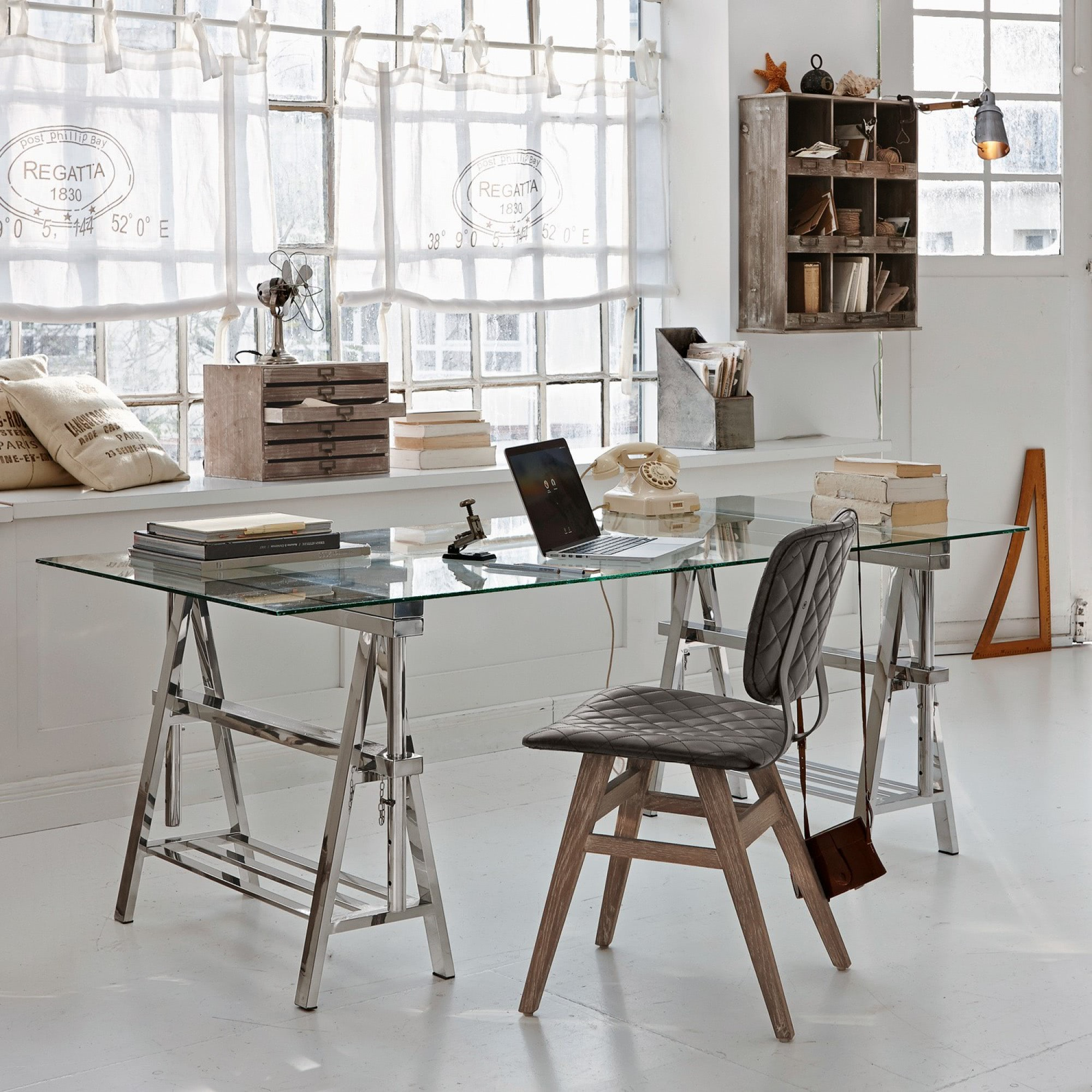 schreibtisch randolph loberon coming home. Black Bedroom Furniture Sets. Home Design Ideas