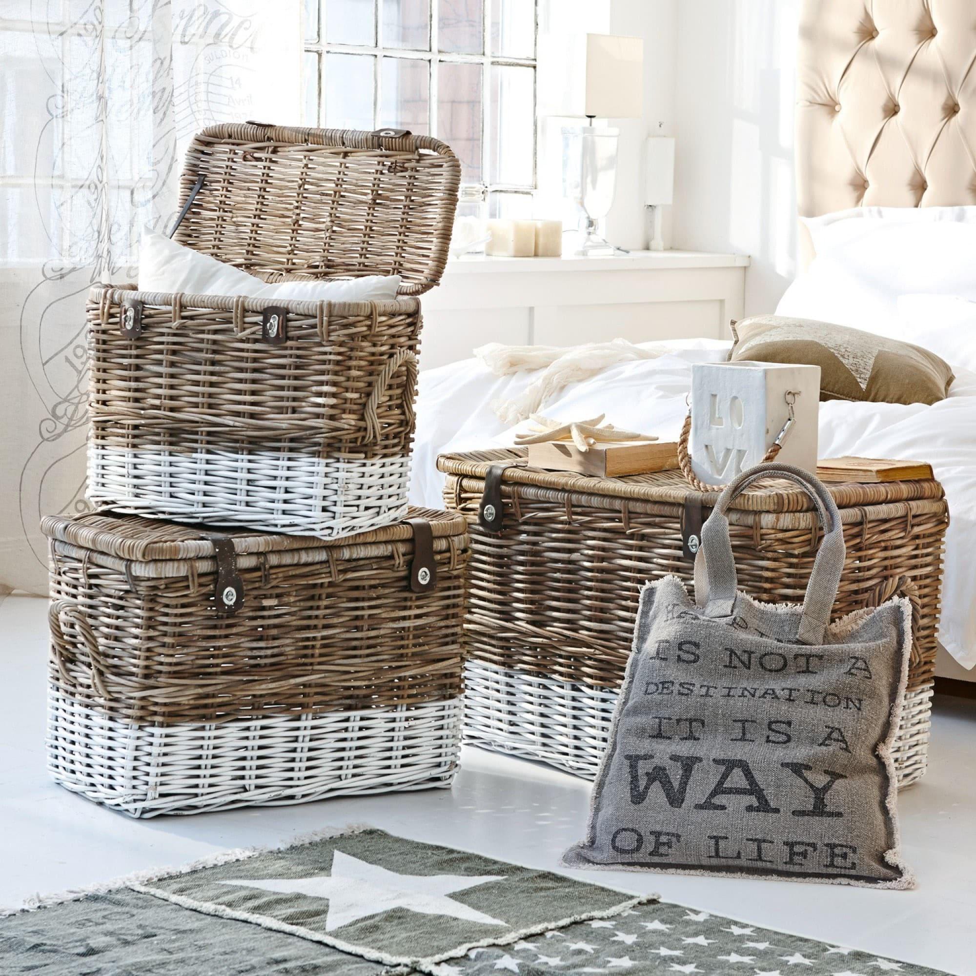 truhe 3er set bagages loberon coming home. Black Bedroom Furniture Sets. Home Design Ideas