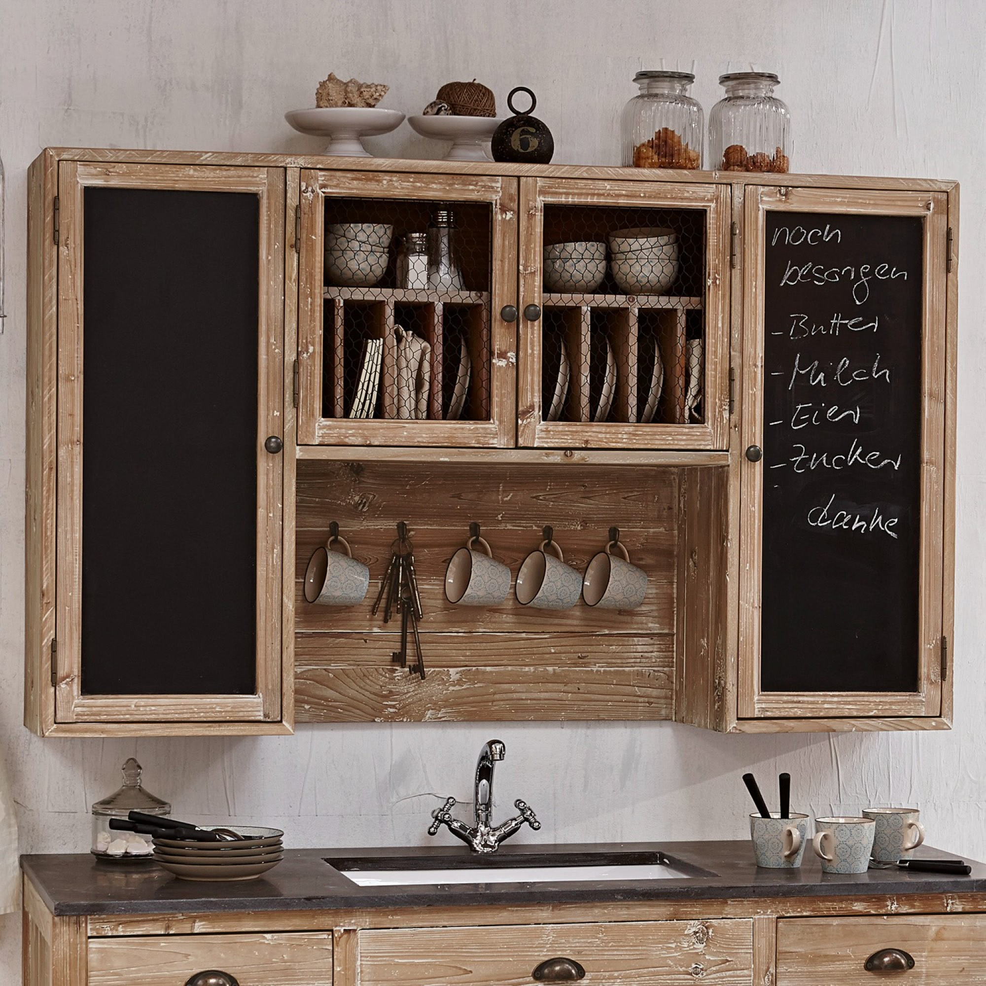 h ngeschrank naturholz bestseller shop f r m bel und einrichtungen. Black Bedroom Furniture Sets. Home Design Ideas