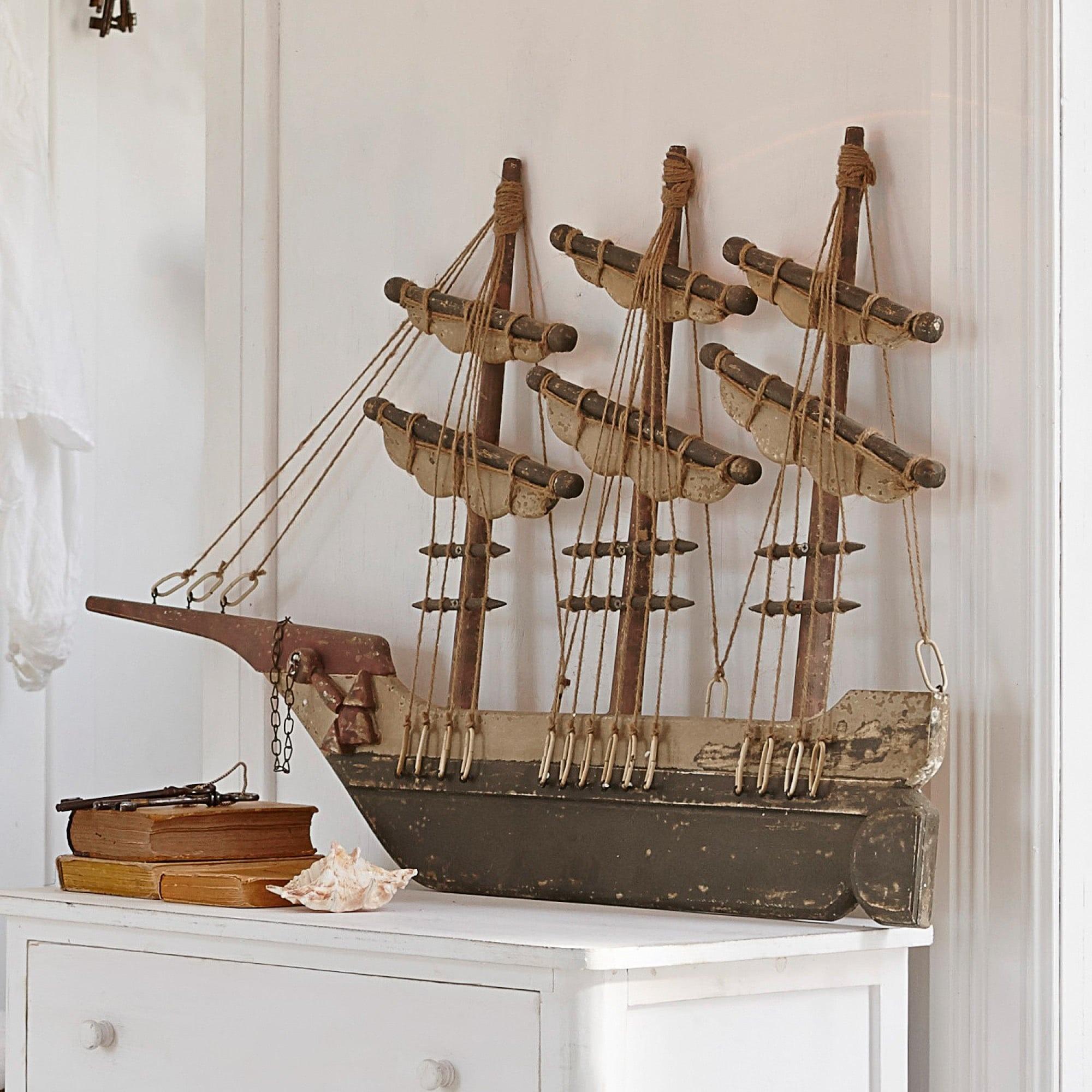 deko schiff flying ship loberon coming home. Black Bedroom Furniture Sets. Home Design Ideas