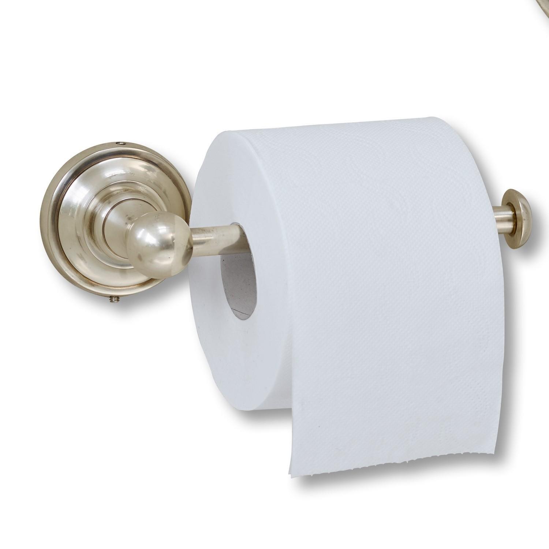 LOBERON Toilettenpapierhalter Pax, antiksilber (9.5 x 21.5 x 7cm)