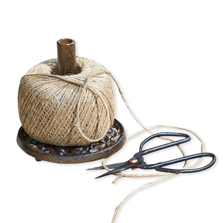 LOBERON Schnurhalter mit Schere Winsome, braun (23cm)