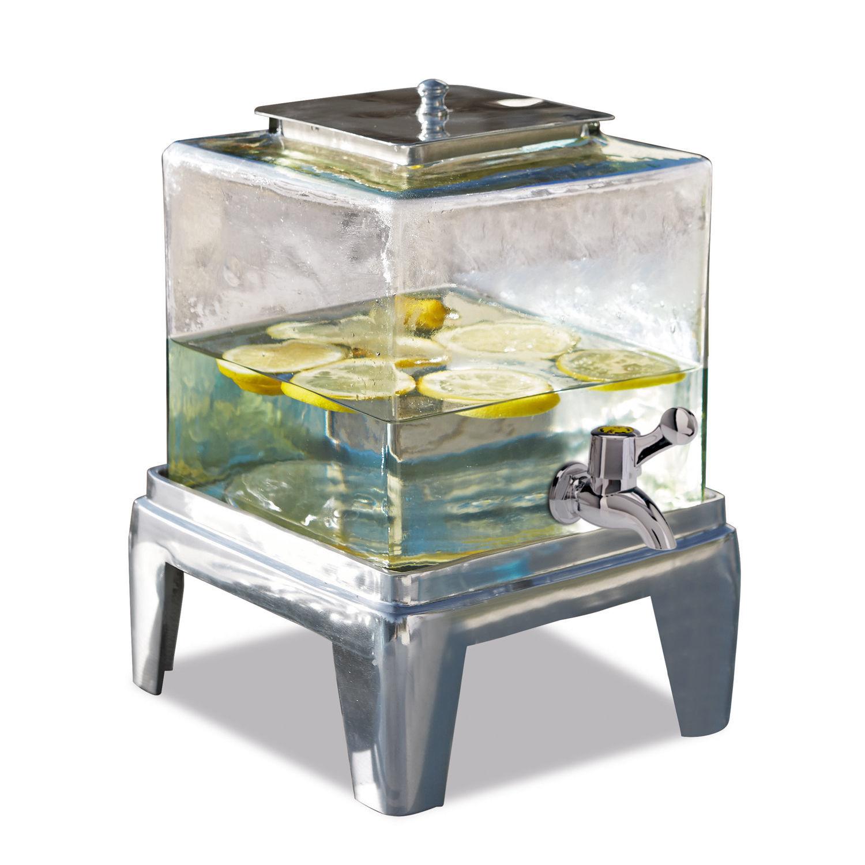 "Getränkespender ""Osric"" aus Glas, transparent (Kopie) Loberon"