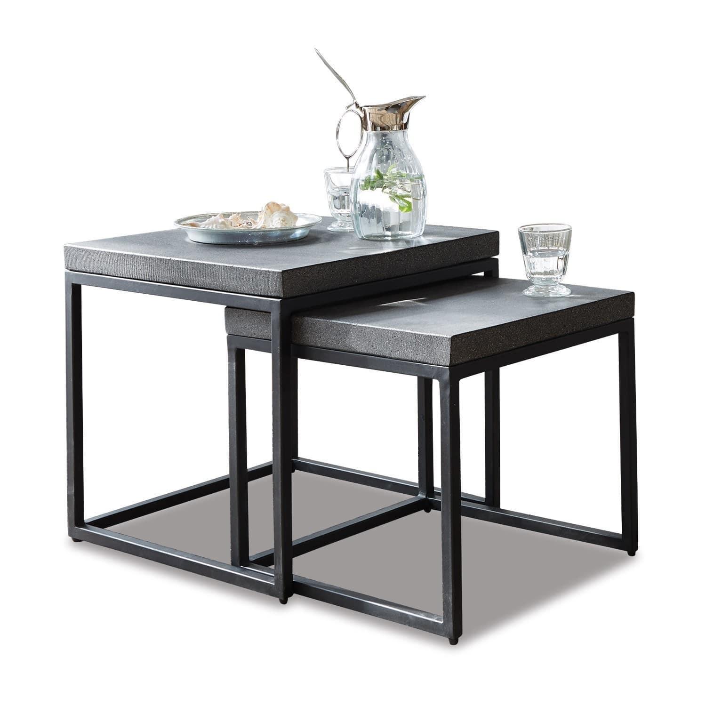 beistelltisch 2er set evendale loberon. Black Bedroom Furniture Sets. Home Design Ideas