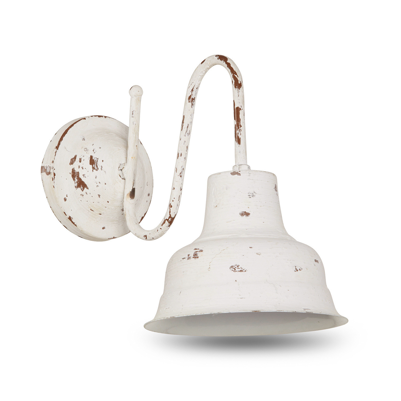 LOBERON Wandlampe Sidney, antikweiß (28 x 20 x 30cm)