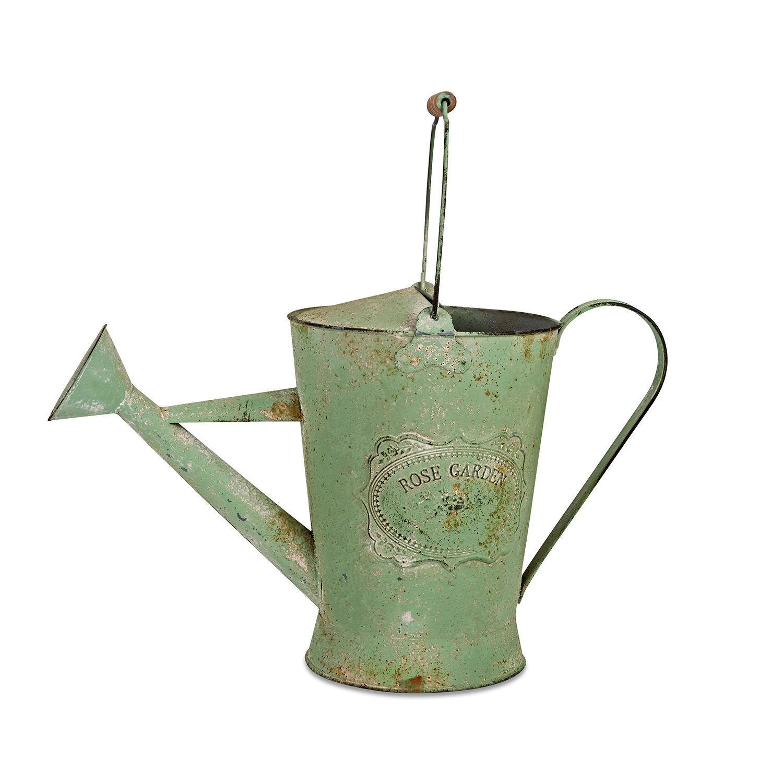 LOBERON Gießkanne Leyden, grün (19 x 19 x 16.5cm)