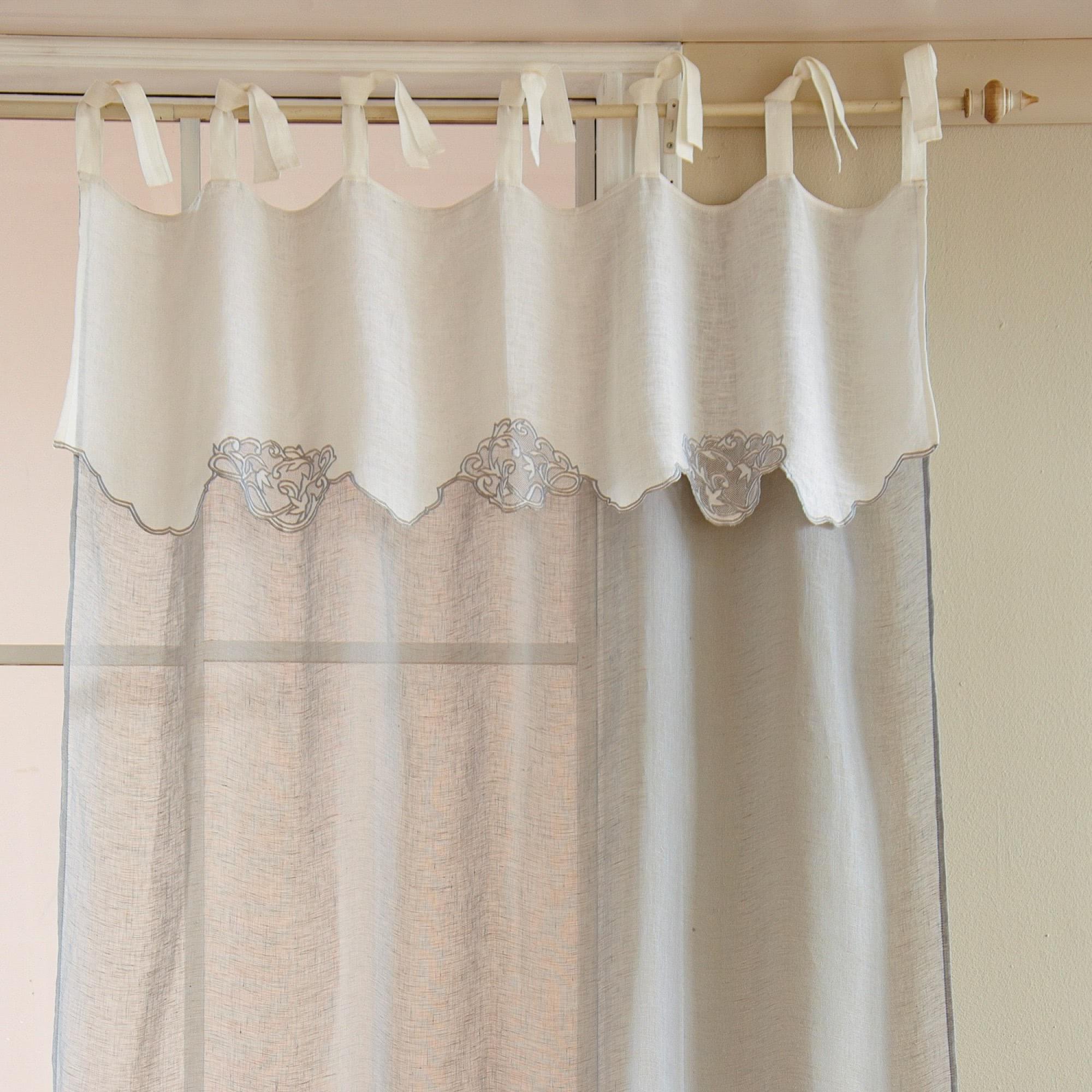 gardine tibby loberon coming home. Black Bedroom Furniture Sets. Home Design Ideas