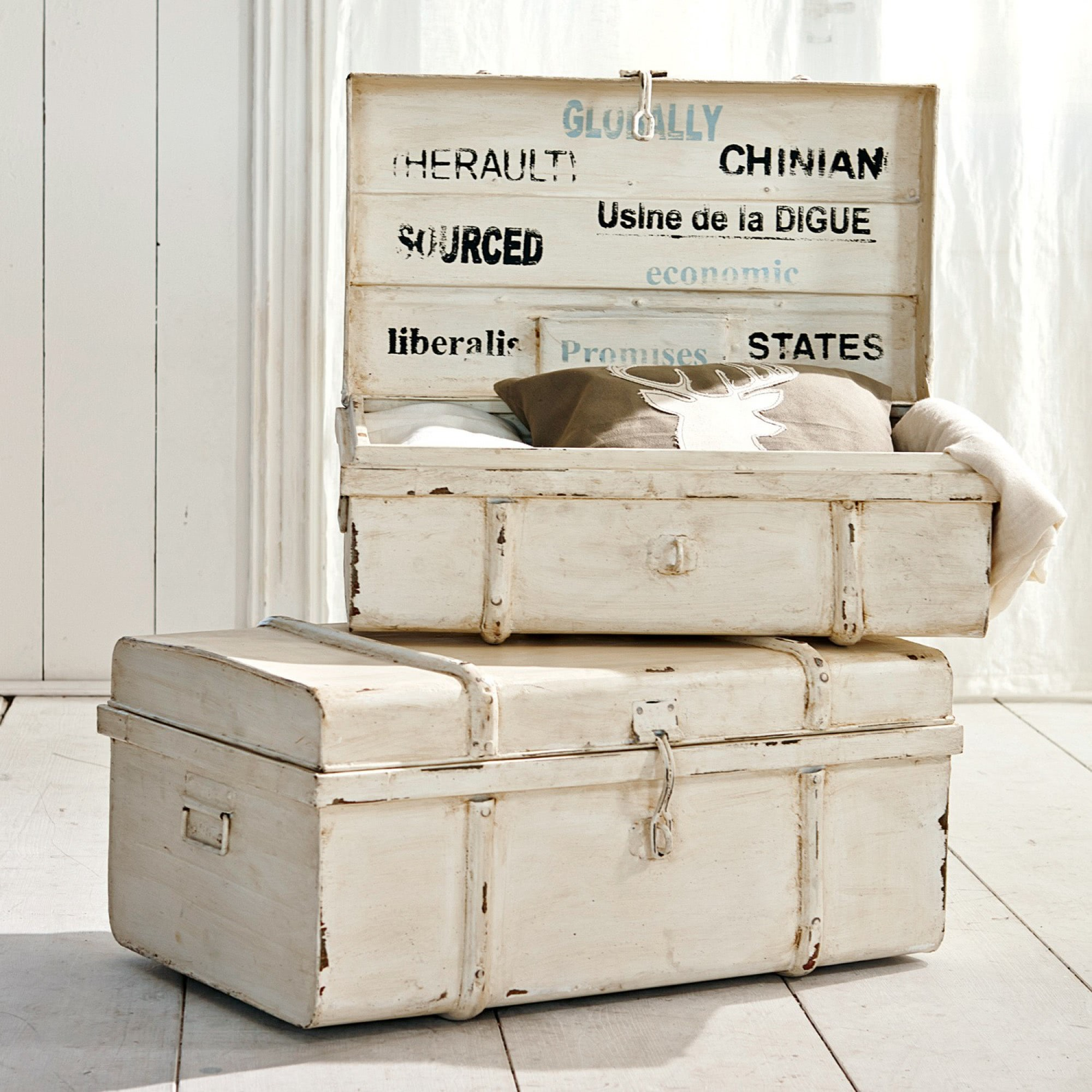 truhen 2er set riga loberon coming home. Black Bedroom Furniture Sets. Home Design Ideas