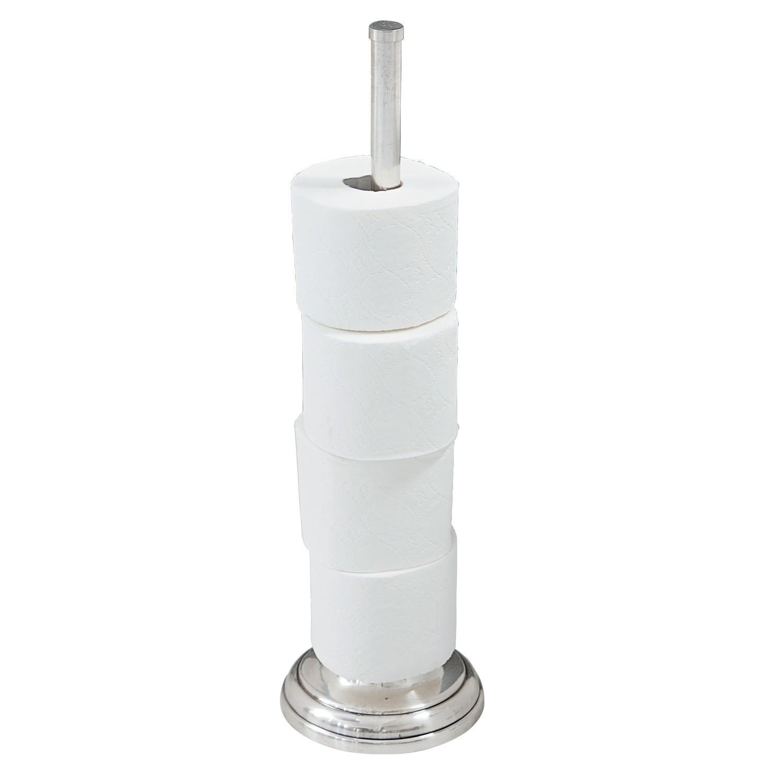 LOBERON Toilettenpapierhalter Levi, antiksilber (50cm)