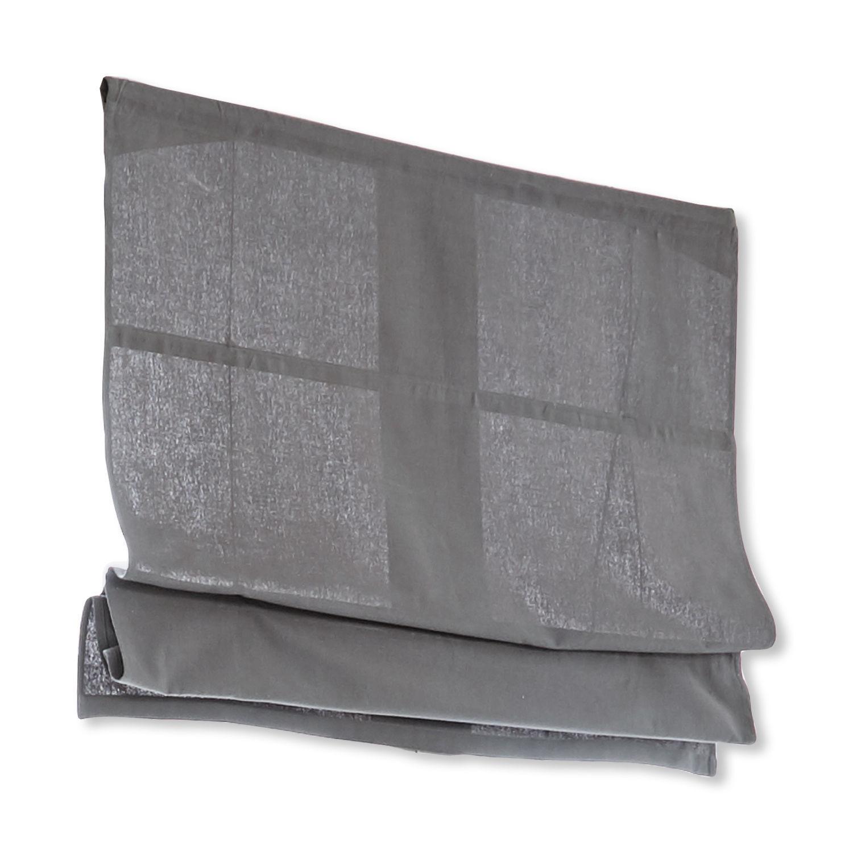 LOBERON Faltrollo Fides, grau (100 x 120cm)
