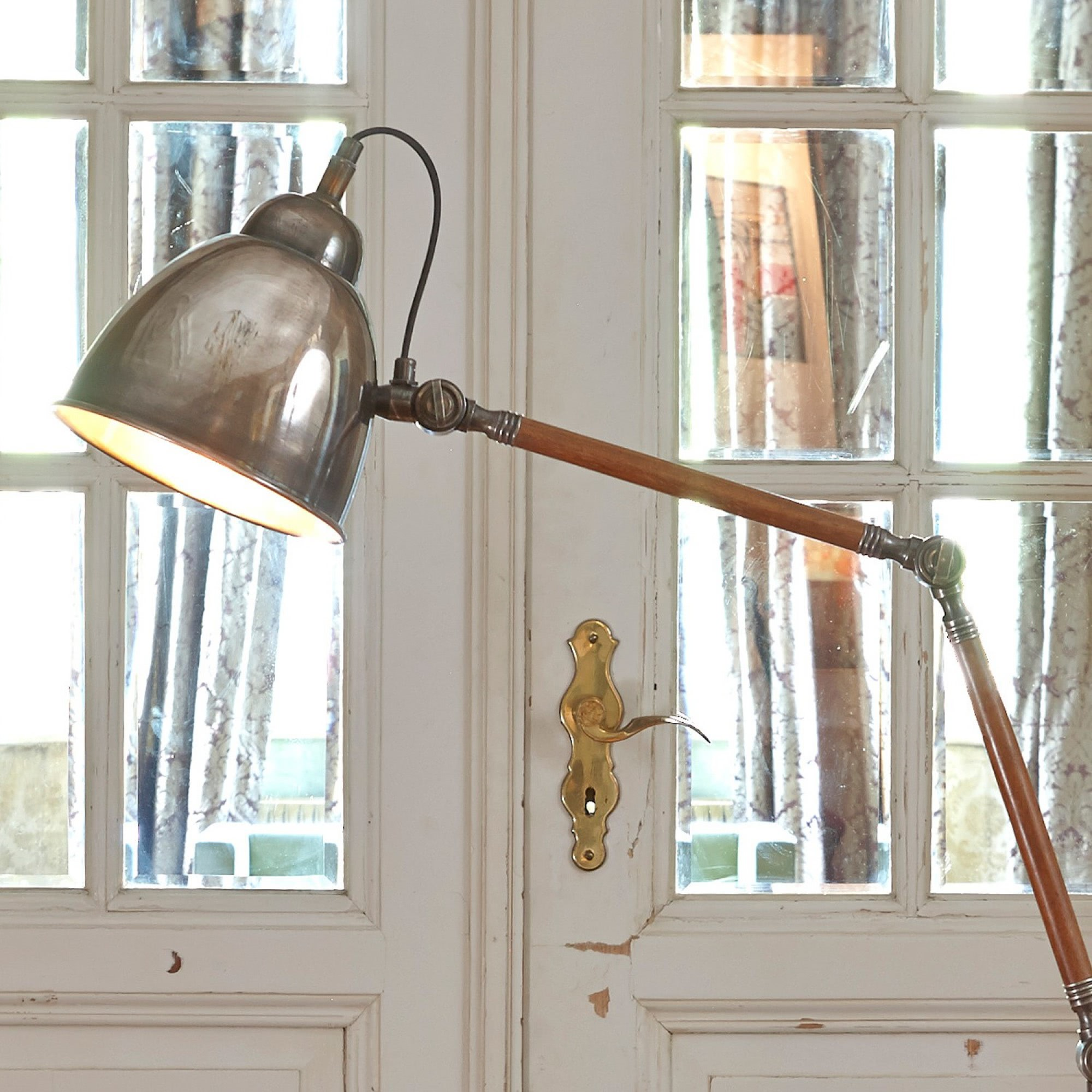 stehlampe trinity loberon coming home. Black Bedroom Furniture Sets. Home Design Ideas
